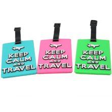 LT005 Keep Calm Luggage Tags