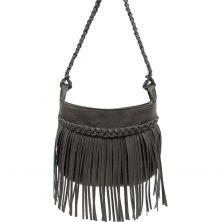 4054C Maddie Small X Body Bag Charcoal (3)