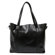 HT011B Madrid Tote Black (2)