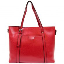HT011R Madrid Tote Red (1)