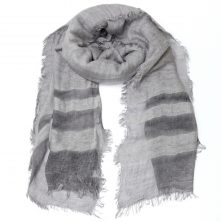 SC041S Galle Scarf Silver